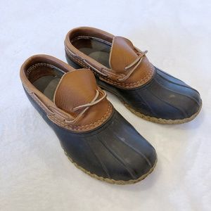 L.L. Bean | Low Ankle Duck Bean Boots Sz 7